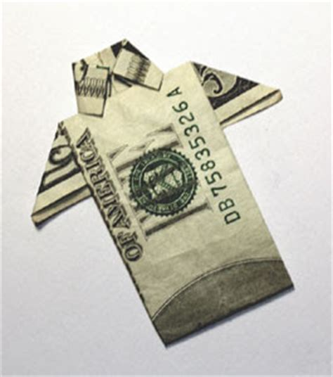 Origami Dollar Bill Shirt - origami n stuff 4 origami dollar bill aloha shirt