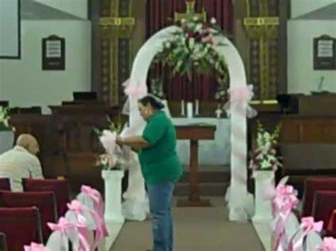 do it yourself wedding decorations for church wedding flowers ceremony church decor nisha s designs