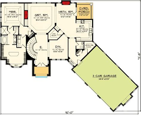 Ranch Floor Plans With Basement Walkout by Ranch Home Plans Walkout Basement Cottage House Plans