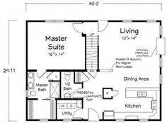 House Plans 32 Feet Deep Or Less On Pinterest House 32 X 30 House Plans