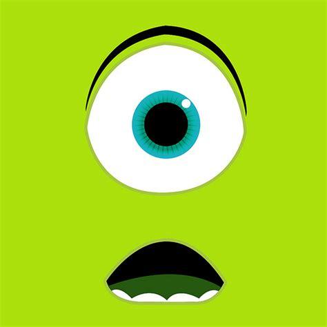 wallpaper cartoon for ipad monsters university bigface cartoon ipad wallpaper