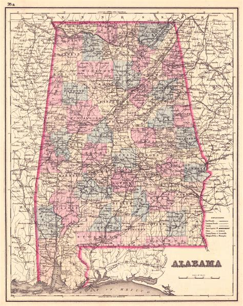 map of alabama counties alabama counties map
