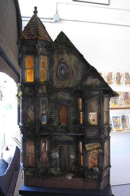 halloween doll house 25 best ideas about haunted dollhouse on pinterest doll houses doll house