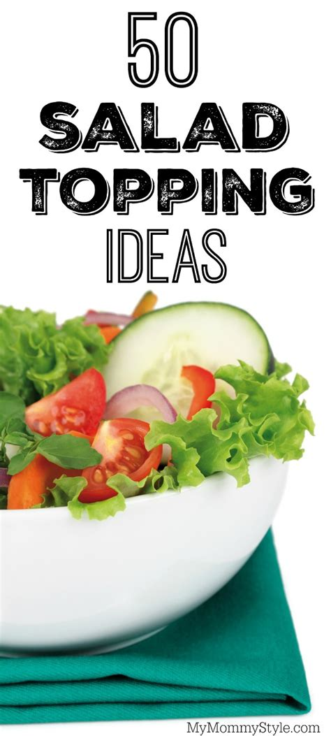 Salad Bar Toppings List by 50 Salad Topping Ideas Style