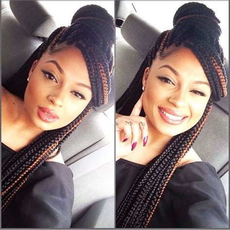 how to pin up box braids 25 best ideas about box braids styling on pinterest box