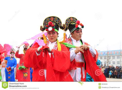 lunar new year clothing wear colorful clothes yangko performances in