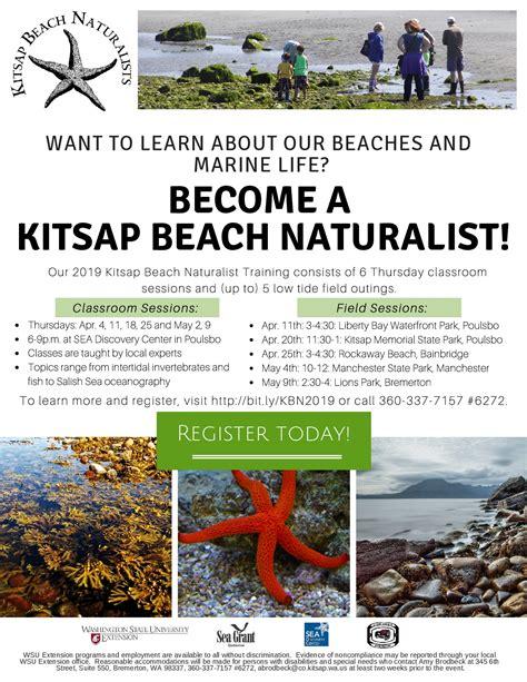 kitsap beach naturalist training kitsap county