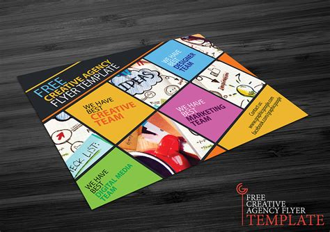 Free Creative Flyer Templates 30 free flyers templates designs for graphic designers