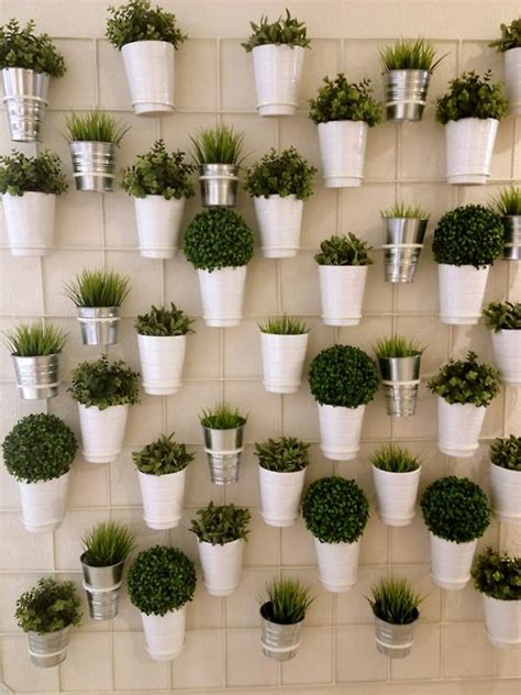 herbs on wall 25 best ideas about plant wall on pinterest wall planters vertical wall planters and hanging