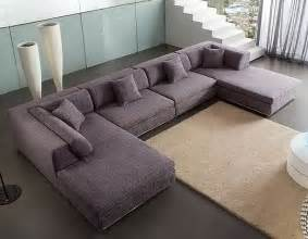 u shaped fabric sectional sofa am b330 field point