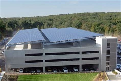 Solar Garage by Solar On Parking Garages Q A With Solaire Generation