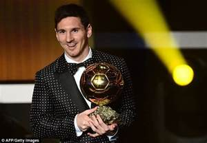 L Award by Lionel Messi Has No Competition For The Ballon D Or