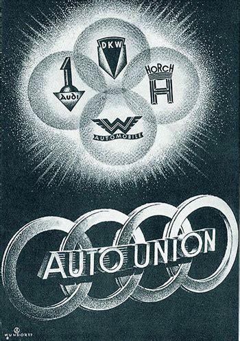 Auto Union Logo by Auto Union Logo Audi Horch Dkw Wanderer F1