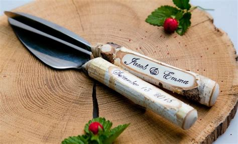 Serve Wedding Cake And by Rustic Wedding Cake Knife Set Cake Serving Set Rustic
