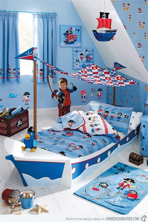 Pirate Ship Toddler Bed by 15 Transportation Themed Toddler Beds Home Design Lover