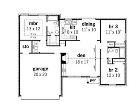 floor plans for small houses with 3 bedrooms simple small house floor plans 3 bedroom simple small