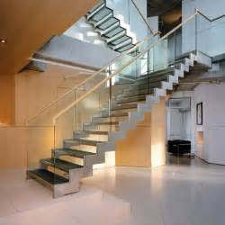 Modern Design Staircase Contemporary Stairs 187 Contemporist Stairs Stainless Steel Inspiration And Design