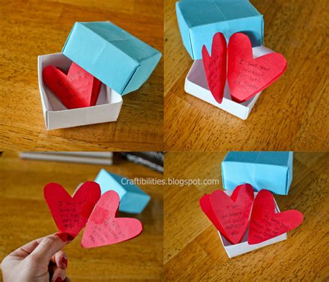 Handmade Gifts With Paper - sweet gifts made for parents personal