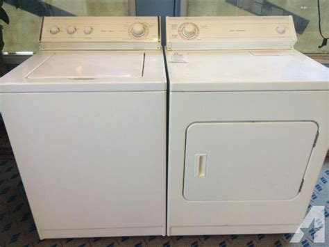used washer and dryer sets whirlpool washer dryer set pair used for sale in tacoma washington classified