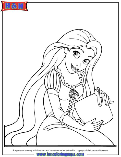 Rapunzel 12 Coloring Pages Coloring Pages Rapunzel