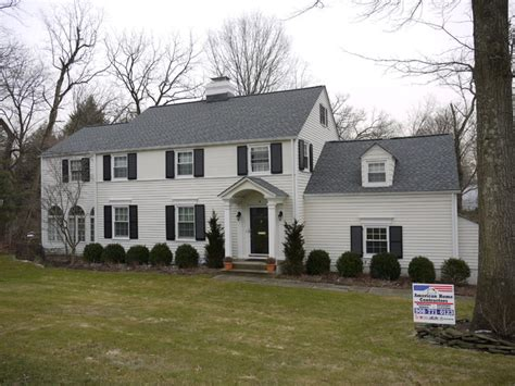 timberline pewter grey shingle with white siding gaf timberline hd pewter gray nj