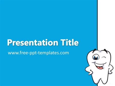 Dentist Ppt Template Free Animated Dental Powerpoint Templates