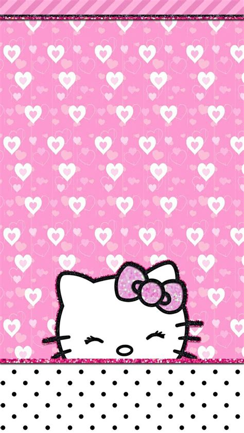 wallpaper hello kitty pink for iphone 820 best images about hello kitty wallpapers on pinterest