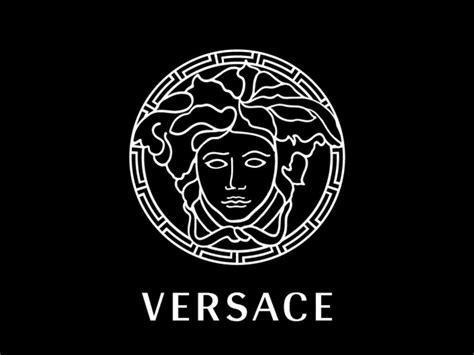 logo versace black versace logo versace logo black logo database