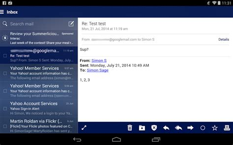 android mail yahoo mail review android central