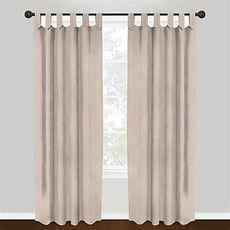 tab top curtain panels park b smith vintage house 100 cotton brighton tab top