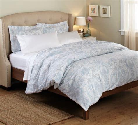100 percent cotton comforter sets pinzon 100 percent cotton printed duvet set full queen