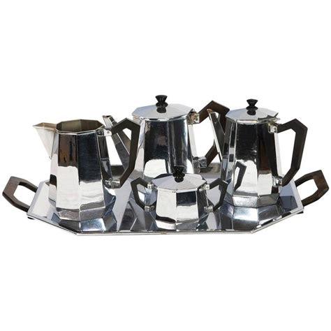 alessi tea carlo alessi deco tea and coffee service for sale at