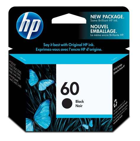 Tinta Printer Hp No 60 Jual Hp Black Ink Cartridge 60 Harga Dan Spesifikasi