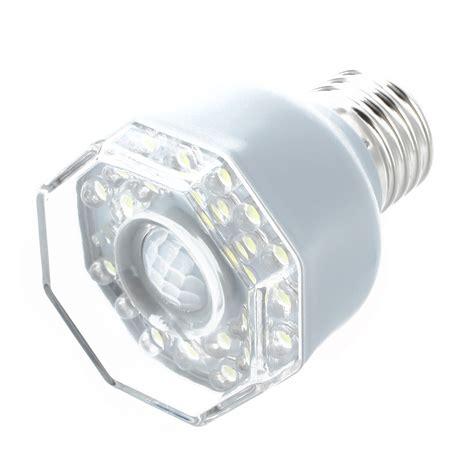 light sensor night light e27 24 led night light l motion sensor white h7h5 ebay