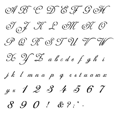 printable fonts for tattoos tattoo schriften vorlagen 40 designs posts fonts