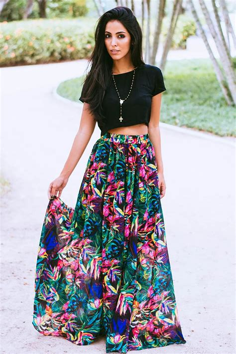 best 25 floral maxi skirts ideas on maxi