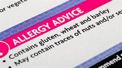Dr Barnes Pediatrician Food Labels On Potential Allergens May Confuse Shoppers