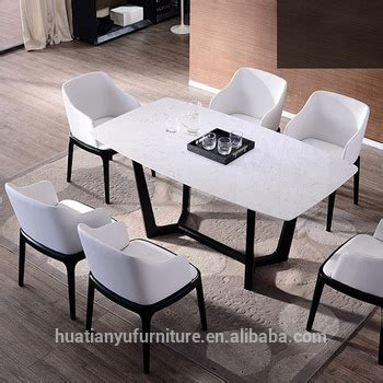 low price malaysian royal 6 seater marble top wooden