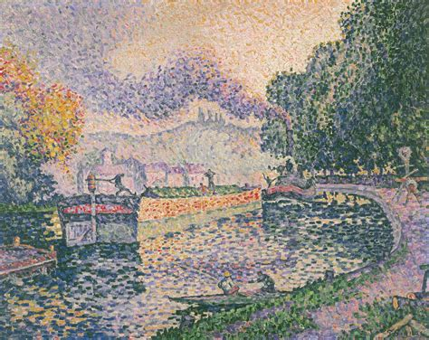 File:Paul Signac The Tugboat, Canal in Samois Google Art Project Wikimedia Commons