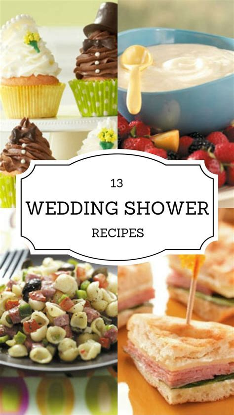 45 best Baby & Bridal Shower Recipes images on Pinterest