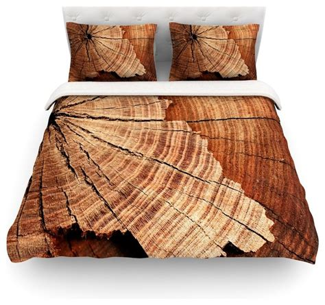 rustic duvet covers susan sanders quot rustic quot brown wood duvet cover