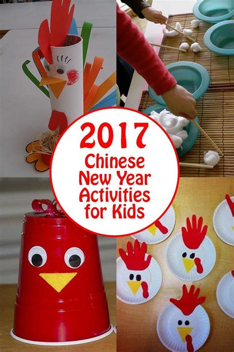new year activities 2017 new year activities and rooster crafts