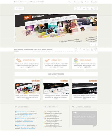 responsive portfolio template free responsive portfolio website template free