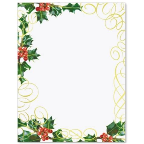 holly swirls specialty border papers paperdirect