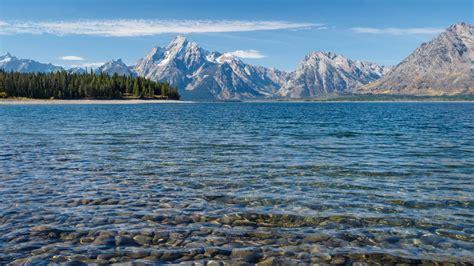 jenny lake grand teton national park wyoming usa lake
