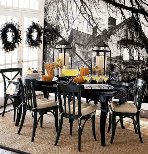 dining room art decor 7 upholstered chairs for the creepiest halloween dining