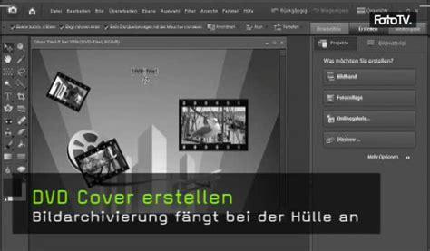 photoshop elements layout erstellen video dvd cover erstellen