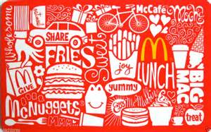 Where Can You Buy Mcdonald S Gift Cards - mcdonalds gift card collectible no value 2012 ebay