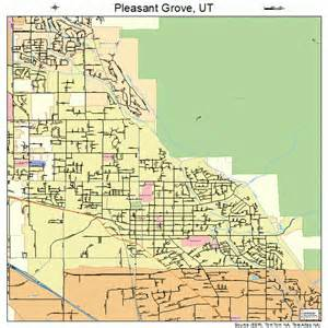grove map pleasant grove utah map 4960930