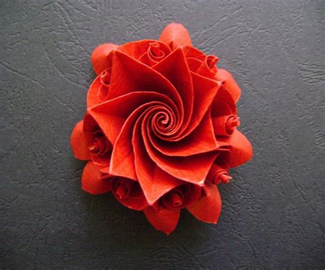 Origami Columbine Flower - origami maniacs origami aquilegia flower